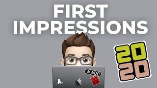 A developer's WWDC20 first impressions