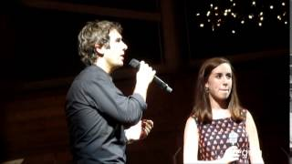 """All I Ask of You"" by Josh Groban & Alyssa White at the Koka Booth Amphitheatre on August 16, 2014"
