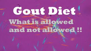 Gout diet: How to Prevent Gout?