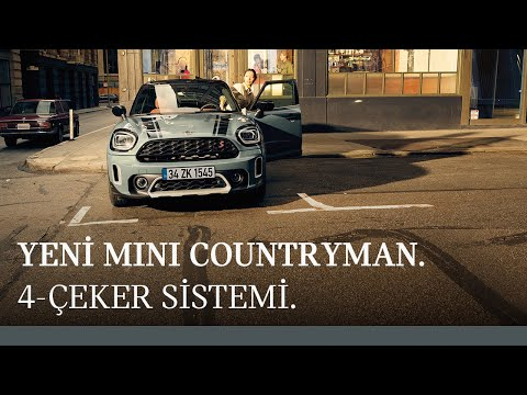 Yeni MINI Countryman: 4-Çeker Sistemi ALL4.
