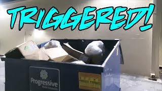 WHAT THIS STORE THROWS AWAY WILL MAKE YOU MAD! 😡 (Dumpster Diving)