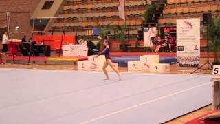 Chelsey mathijssen monreau gymnastics tour 2012