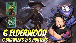 6 Elderwood 6 Brawler 3 Hunter Ashe | TFT Fates | Teamfight Tactics