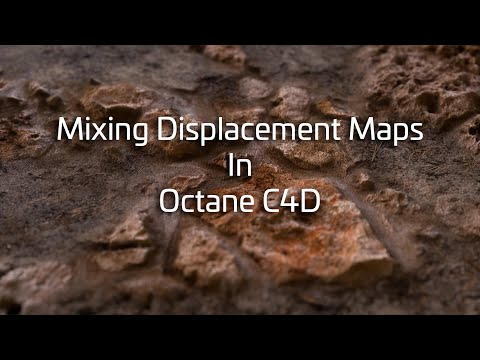 Mixing Displ Maps in Octane