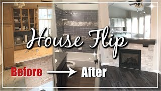 Complete House Flip Before & After | Home Renovation 90s To Modern Glam | Momma From Scratch