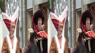 Cabalgata Hanswijk de Mechelen Malinas Bélgica 3D