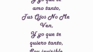 Tus Ojos No Me Ven - Joey Montana-Con letra