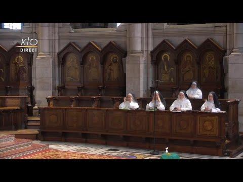 Prière du Milieu du jour du 28 juillet 2021 des Bénédictines du Sacré-Coeur de Montmartre