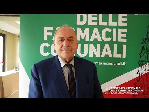 Venanzio Gizzi, Presidente Assofarm e Unione Europea Farmacie Sociali IV Giornata Nazionale delle Farmacie Comunali 28-29 novembre 2019, Pisa