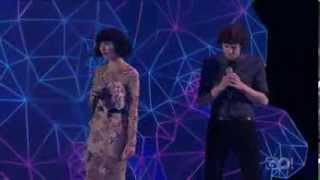 Gotye Feat.Kimbra   Somebody That I Used To Know (live @ Aria 2011)