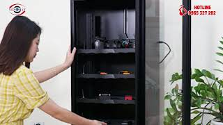 Hướng dẫn bảo quản máy ảnh với tủ chống ẩm Dry Cabi DHC 160