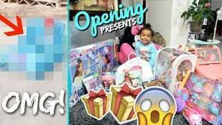 What My 4 Year Old Got For Christmas 2017 + Surprise Ending! (MIMI'S LAST XMAS AS AN ONLY CHILD 😭)