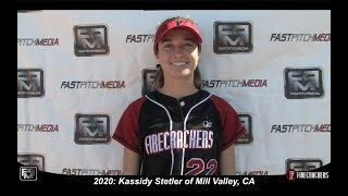 2020 Kassidy Stetler Pitcher and First Base Softball Skills Video