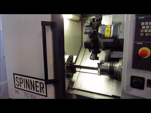Tokarka CNC SPINNER TC30052SMCY - zdjęcie