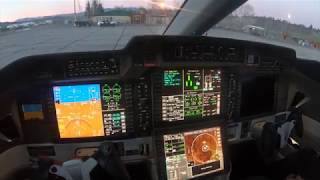 Pilatus PC24 Fight KMMH to KVGT . GoPro