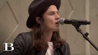 'When We Were On Fire' By James Bay   Live At The Burberry Prorsum SS15 Show