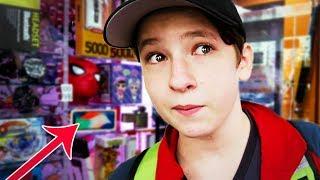 ЗЛОЙ школьник играет в автоматы с призами - мой хейтер
