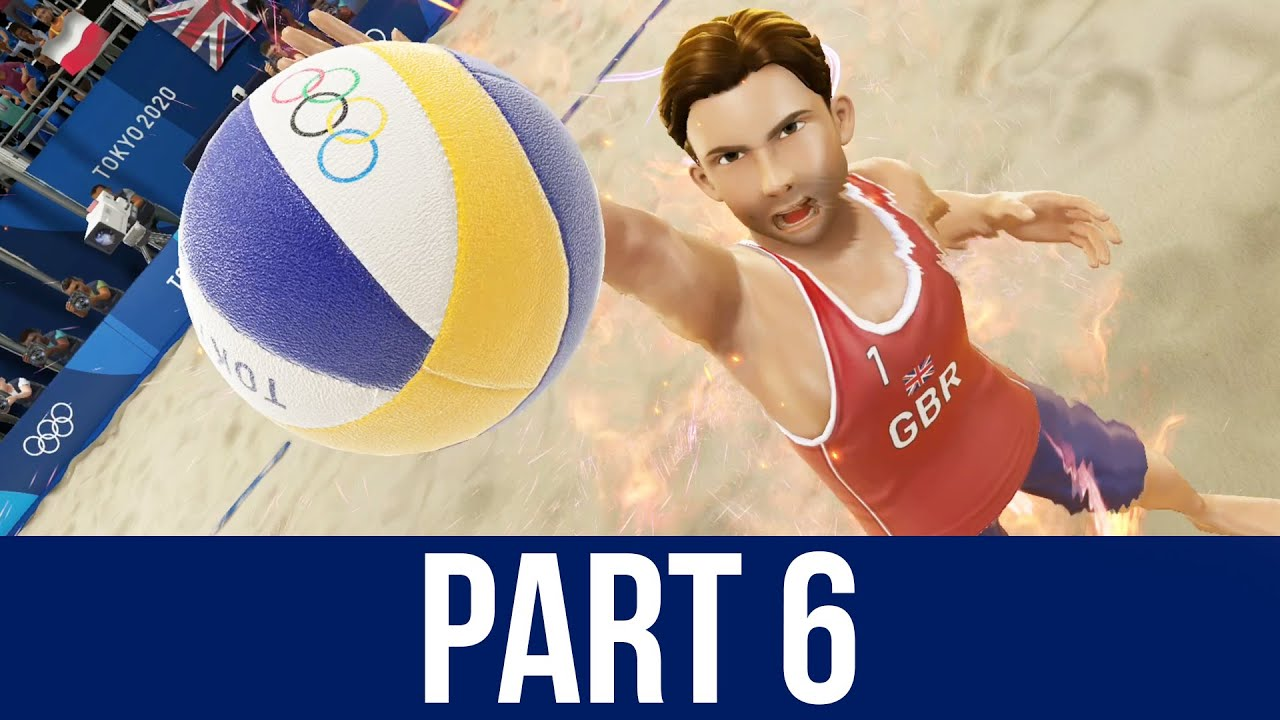 TOKYO 2020 Olympics Video Game Gameplay Part 6 – BEACH VOLLEYBALL