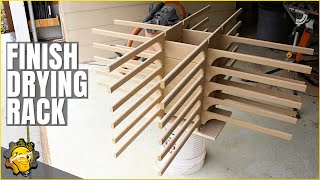 Build A Finish Drying Rack