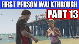 GTA 5 First Person Gameplay Walkthrough Part 13 - SHOP LIFTING!? | GTA 5 First Person
