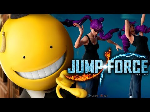 NEW Franchise Joining JUMP FORCE + 7 DLC Characters Datamined!