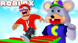 ESCAPE Chuck E. Cheese's Obby in Roblox!