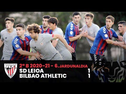 ⚽ Resumen I J6 2ªDiv B I SD Leioa 1-1 Bilbao Athletic I Laburpena