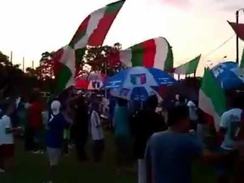 """""""LA BANDA DEL TANO - LA BANDA DEL TANO YA LLEGO"""" Barra: Los Tanos • Club: Audax Italiano"""