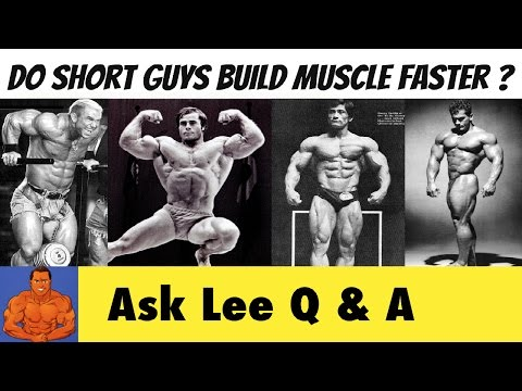 Do Short Guys Have An ADVANTAGE for Building Muscle?