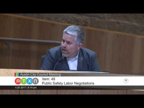 Public Safety Labor Negotiations Public Hearing