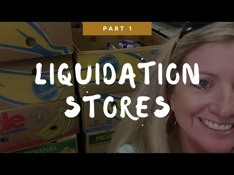 Download LIQUIDATION STORES | EBay and Amazon | WHERE? WHAT