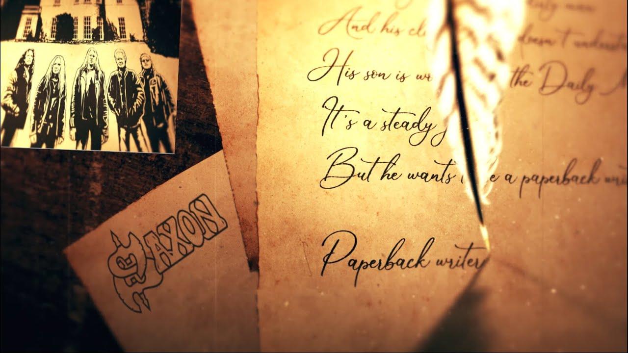 SAXON - Paperback writer