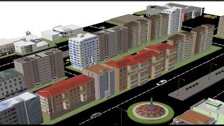preview picture of video 'مشروع NEW CITY  GIS'