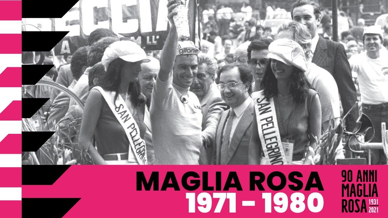 90Anni Maglia Rosa: 1971 – 1980
