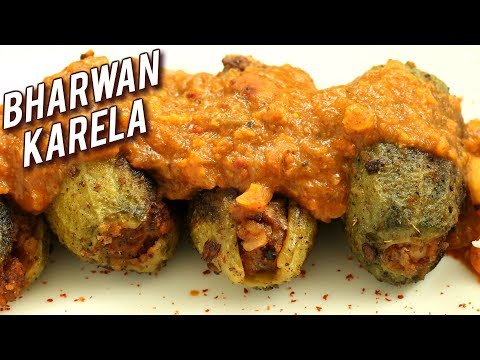 Bharwan Karela Recipe | Stuffed Karela Recipe | Stuffed Bitter Gourd | Masala Karela | Ruchi Bharani