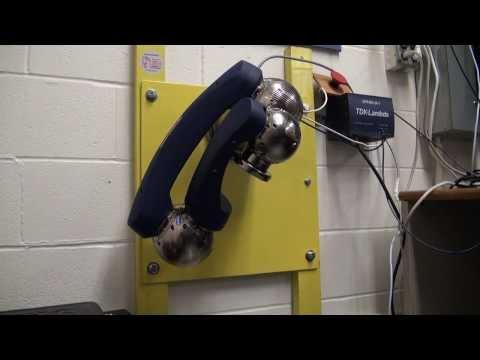 Schunk Powerball LWA4.6 1DOF test