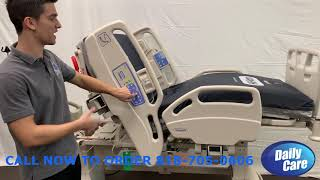 Hill-Rom Care Assist ES Medical Surgical Bed In-Depth Look Daily Care Medical Supplies