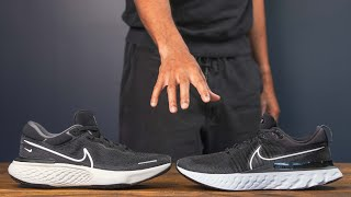 Nike ZoomX Invincible vs Nike React Infinity Run 2 | Best Recovery Day Running Shoes 2021
