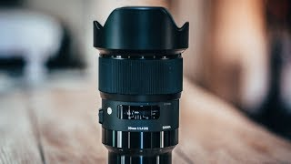 Sigma 20mm 1.4 Art Sony Emount | Review and Test Footage | MY NEW FAVORITE LENS!