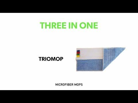 TRIOMOP: Πρωτοποριακή πανέτα καθαρισμού 3 σε 1
