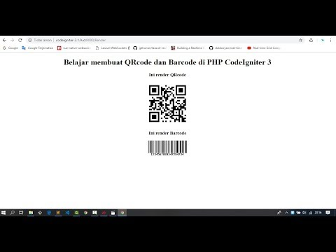 mp4 Codeigniter Qrcode Library, download Codeigniter Qrcode Library video klip Codeigniter Qrcode Library