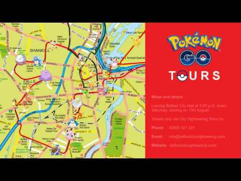 Pokemon GO tours on sightseeing bus planned for across Belfast and