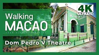 【Walking Macao 4K】 St. Augustine's Square to Centro Náutico da Praia Grande (Under COVID-19)