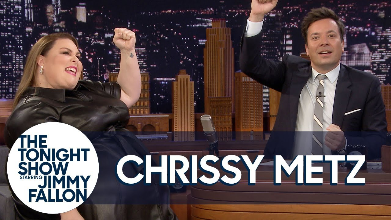 Chrissy Metz and Jimmy Improvise a This Is Us Theme Song thumbnail