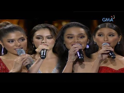 Top 12 Question and Answer Portion | Miss World Philippines 2019