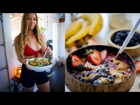 WHAT I EAT IN A DAY TO STAY LEAN & HEALTHY 🍓