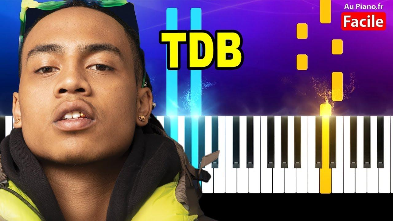 Oboy TDB Piano Cover Tutorial Instru (Au Piano.fr)