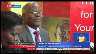 KTN Prime: KRA and Kiambu county enter a partnership for use of ITax to address property rates issue