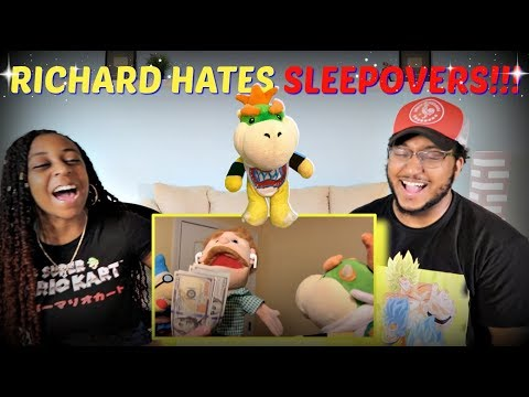 "SML Movie ""Bowser Junior's Crazy Sleepover!"" REACTION!!!"