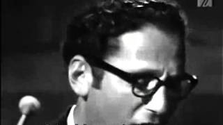 Tom Lehrer  I Hold Your Hand In Mine - LIVE FILM from Copenhagen in 1967 (Legendado)
